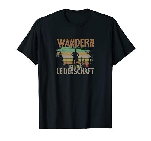Wandern Leidenschaft Berge Klettern Bergsteigen Outdoor T-Shirt